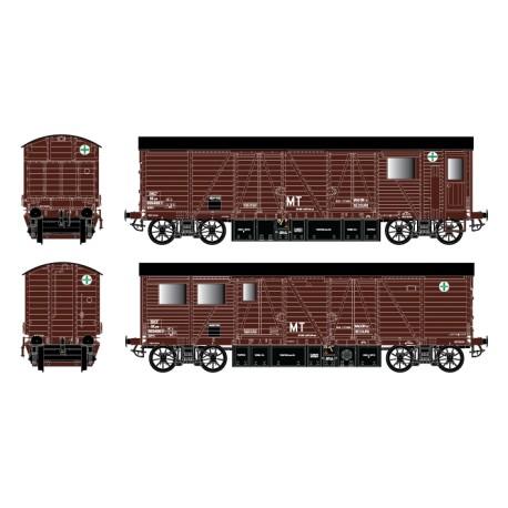 HO 43008a - Wagon de secours WSMI