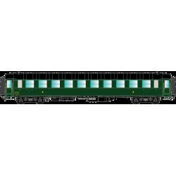 HO42226 - O.C.E.M. PL : C10myfi 18821 (Air pulsé), SNCF OUEST - Ep 3A, avec échelle et passerelles