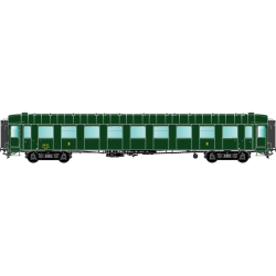 HO42266 - O.C.E.M. RA : B9myfi 55205 modernisée, bouts renforcés, SNCF SUD-EST - Dijon, Ep 3B