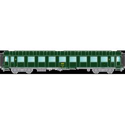 HO42272 - O.C.E.M. RA : B9 50 87-29 057-9, modernisée, bouts renforcés, coffre bois/tôlé Ouest, SNCF ouest, Ep 4